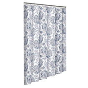 Marble Hill Carlisle Shower Curtain - Blue - FLJ CORPORATIONS