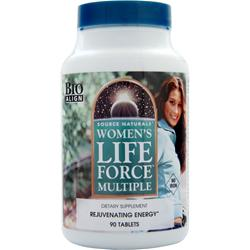 Source Naturals Women's Life Force Multiple (Iron Free) 90 tabs - FLJ CORPORATIONS