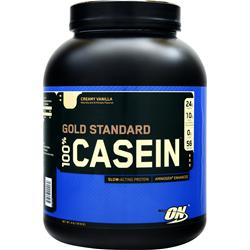 Optimum Nutrition 100% Gold Standard Casein Protein Creamy Vanilla 4 lbs - FLJ CORPORATIONS
