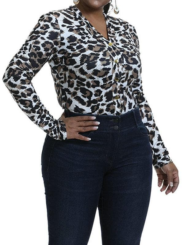 Leopard Print Coveralls Jumpsuit - FLJ CORPORATIONS