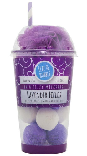 Fizz & Bubble Lavender Fields Bath Bomb Fizzy Milkshake - FLJ CORPORATIONS