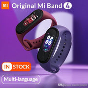 Original Mi Band 4 Smart Bracelet Xiaomi Fitness tracker watch Heart Rate sleep monitor 0.95 inch OLED Display Band4 Bluetooth - FLJ CORPORATIONS