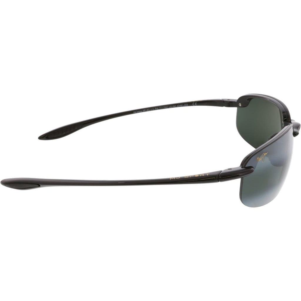 Black Semi-Rimless Sunglasses - FLJ CORPORATIONS