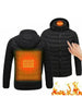 Image of Mens Heated Hoodie Jacket - FLJ CORPORATIONS