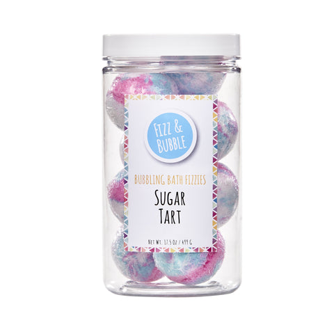 ($29 Value) Fizz & Bubble Sugar Tart Bubbling Bath Bomb Fizzies - FLJ CORPORATIONS