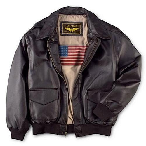 Leathers Mens Air Force Jacket - FLJ CORPORATIONS
