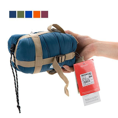 Naturehike Mini-Ultralight Sleeping Bag Outdoor Camping Envelope / Rectangular Bag 15 °C Single Imitation Silk Cotton Portable Mini Warm Ultra Light (UL) 190*75 cm Spring Summer for Hiking Camping - FLJ CORPORATIONS