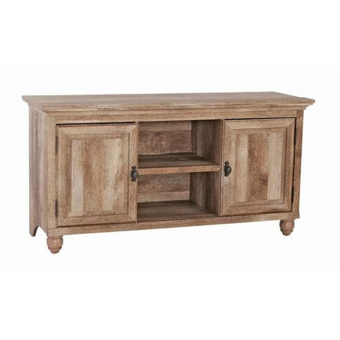 "Better Homes & Gardens Crossmill Collection TV Stand & Console Cabinet for TVs up to 65"", Weathered Finish"