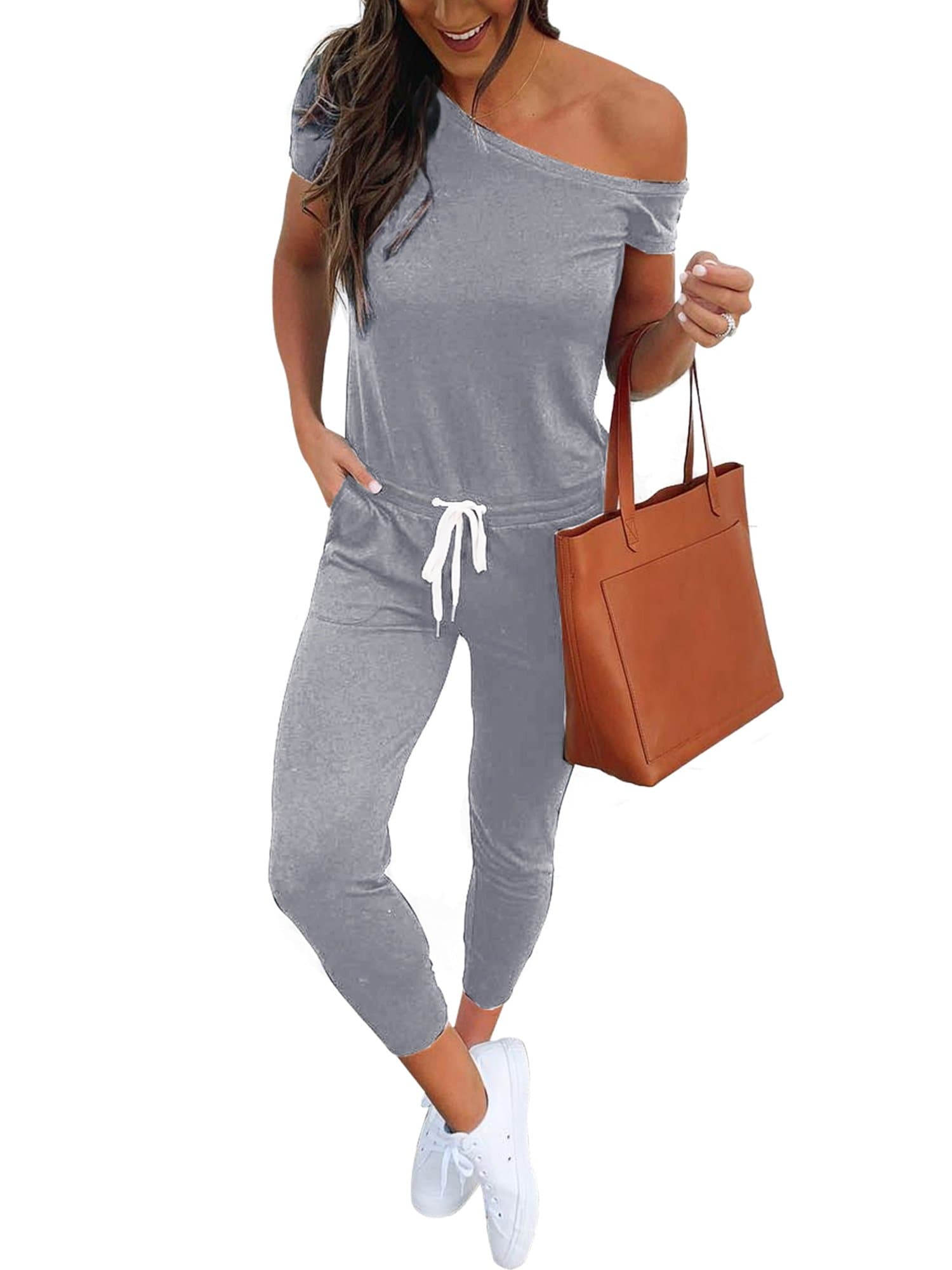 Beam Foot Jumpsuit Rompers - FLJ CORPORATIONS