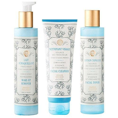 Panier Des Sens Face Care Cleanser, Make-up Remover, Toner, Essence of Freshness (3 pieces) - FLJ CORPORATIONS