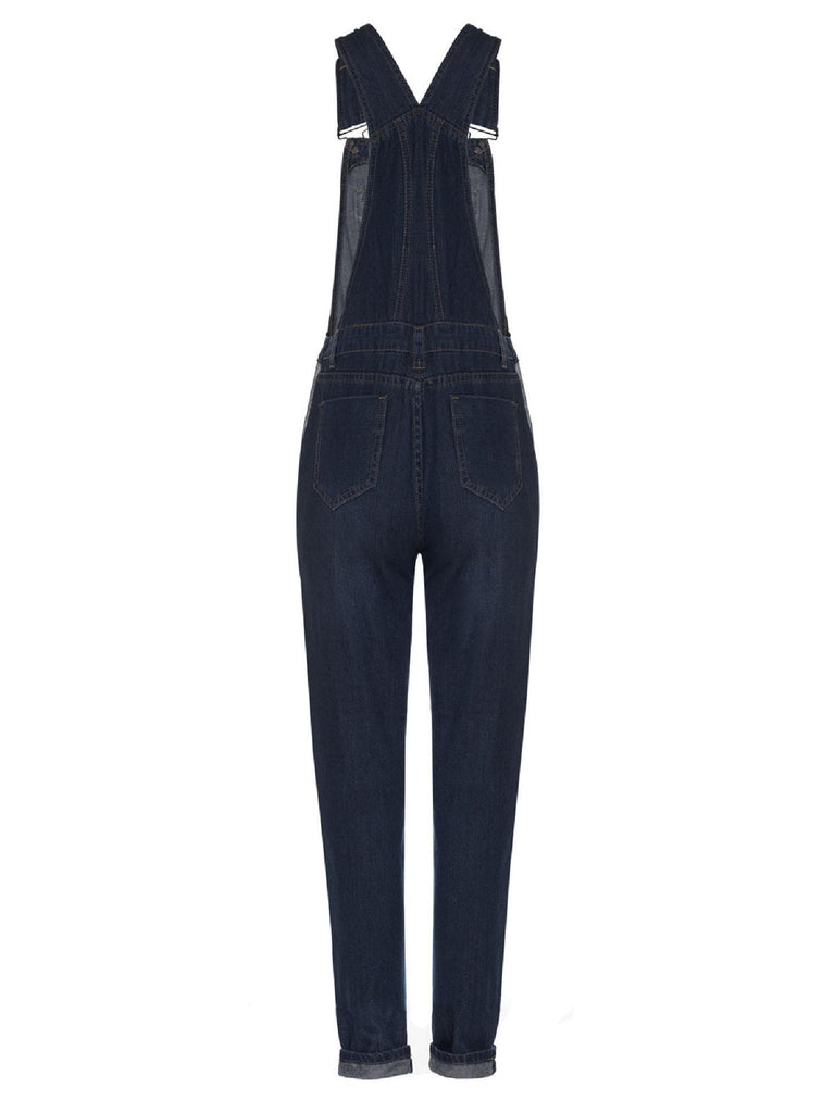 Classic and Distressed Skinny Jumpsuit - FLJ CORPORATIONS