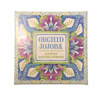 Greenwich Bay ORCHID JOJOBA Dusting Powder, After-Bath Body Powder, 4 oz. - FLJ CORPORATIONS