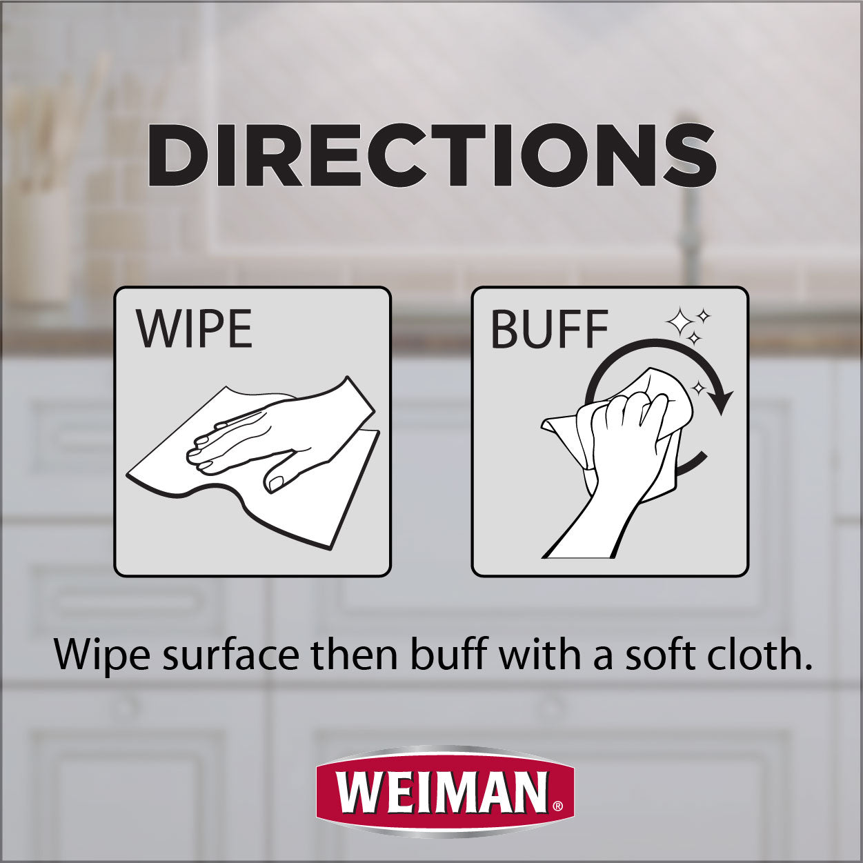 Weiman Stainless Steel Cleaner Wipes - 30 Count - FLJ CORPORATIONS