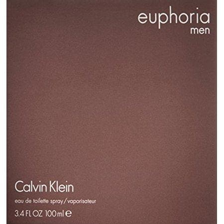 Calvin Klein Euphoria Eau De Toilette Spray, Cologne for Men, 3.4 Oz - FLJ CORPORATIONS