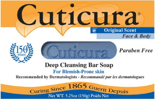Cuticura Deep Cleansing Bar Soap - FLJ CORPORATIONS