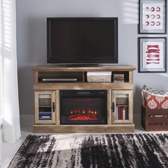 Better Homes & Gardens Crossmill Fireplace Media Console for TVs up to 60