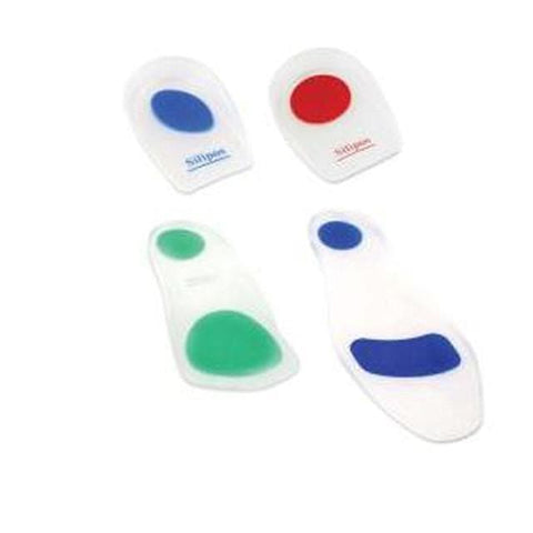 Silicon Insole Gel Heel Cushion Foot Care Heel Pad Heel Cup for  CALCANEAL (ACHILLES) SPUR - FLJ CORPORATIONS