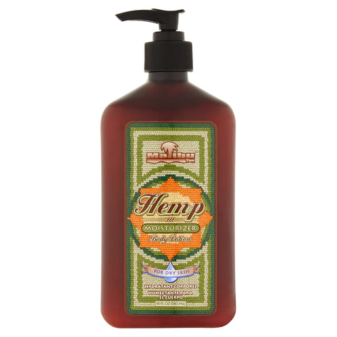 Malibu Tan Body Lotion for Dry Skin Hemp Moisturizer, 18 fl oz - FLJ CORPORATIONS