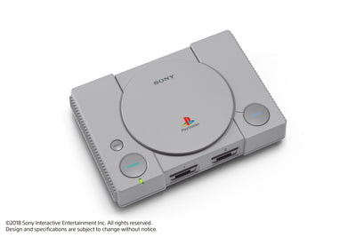 Sony PlayStation Classic Console, Gray, 3003868 - FLJ CORPORATIONS
