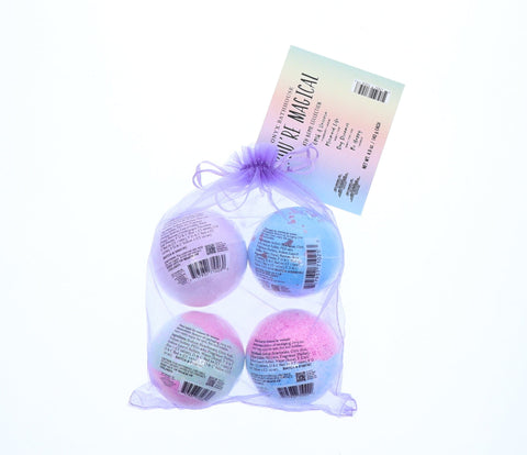 Onyx You're Magical Bath Bomb Bundle, 4 Ct, 4.9 Oz - FLJ CORPORATIONS