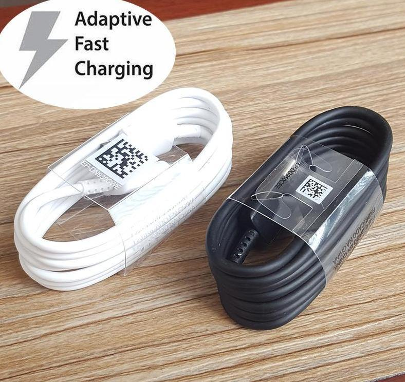 For Samsung Galaxy S10+ S10E S10 S9 S9+ S8 S8+ Note 9/8 A9 A9S A7 a5 A3 Type C 3.1 USB-C Sync Fast Charger Cable Charging Cables For S20 S30