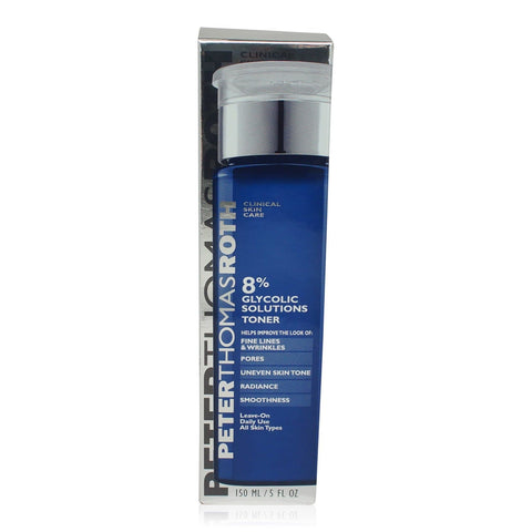 ($40 Value) Peter Thomas Roth 8% Glycolic Solutions Face Toner, 5 Oz - FLJ CORPORATIONS