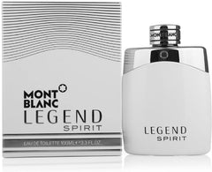 ($92 Value) Montblanc Legend Spirit Eau De Toilette Spray, Cologne For Men, 3.3 Oz