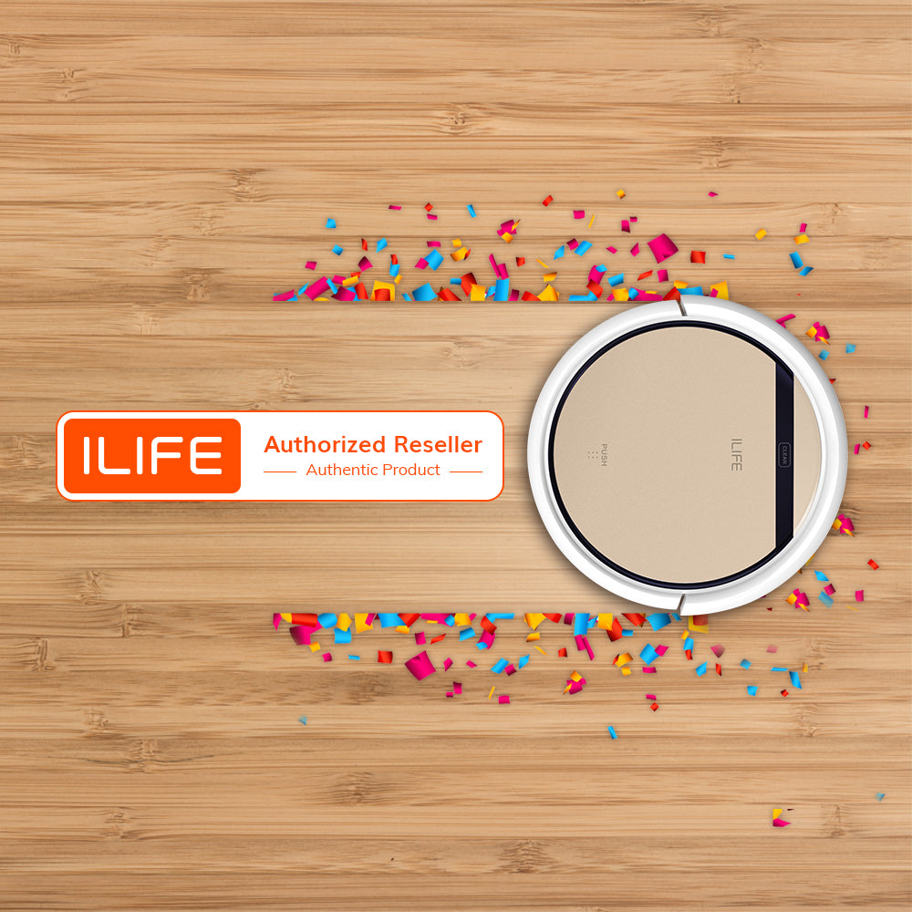 ILIFE V5s Pro Robot Vacuum and Mop 2 in 1 Cleaner with Water Tank, Self Charging Robotic Vacuum - FLJ CORPORATIONS
