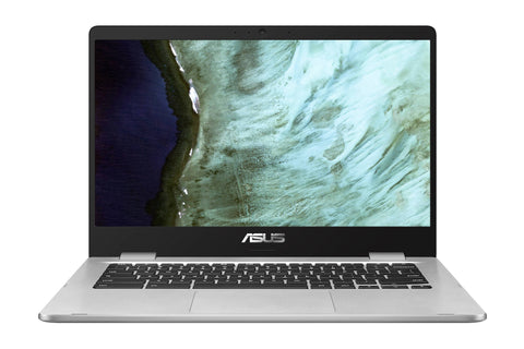 "ASUS C423 14"" Celeron 4GB/64GB Chromebook, 14"" HD Nano-Edge Display, Intel Celeron N3350, 4GB DDR4, 64GB eMMC, Chrome OS, C423NA-WB04"