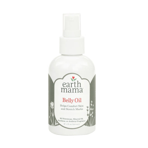 Earth Mama Belly Oil for Itchy Pregnancy Stretch Marks (4 Fl. Oz.) - FLJ CORPORATIONS