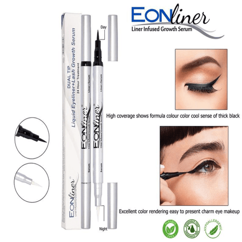 Eyeshadow Liquid Liner Slim,Ultra-Fine Felt Tip Eyeliner Wing Cat liner plus - FLJ CORPORATIONS
