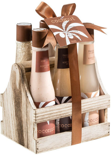 Tropical Milky Coconut Bath And Body Spa Gift Set - FLJ CORPORATIONS