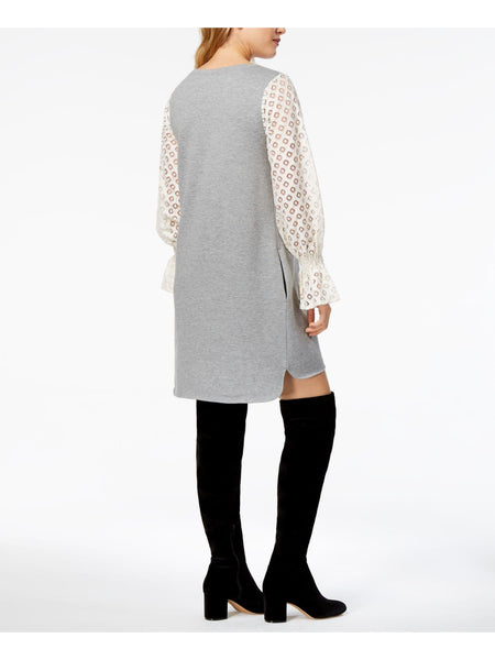 Lace Contrast Long Sleeve - FLJ CORPORATIONS