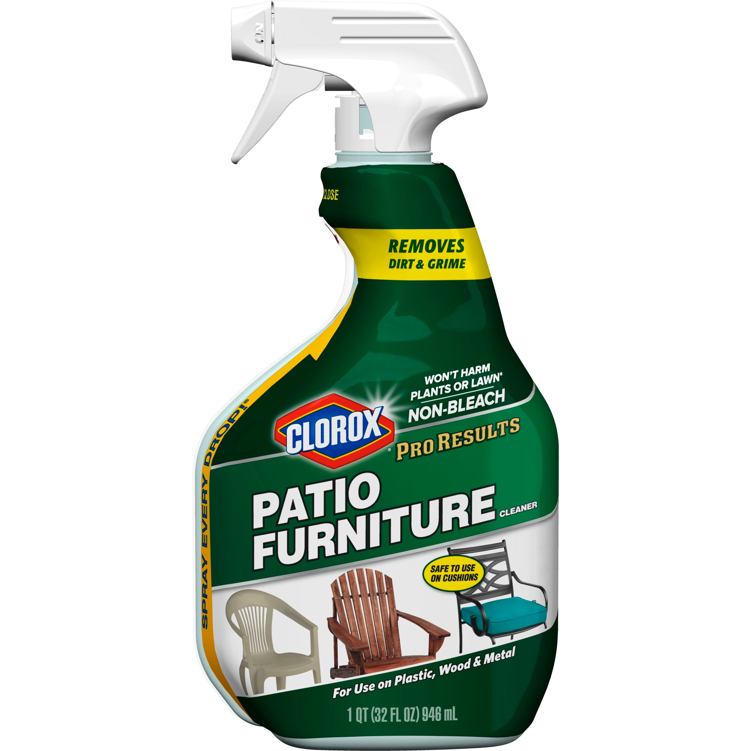 Clorox Pro Results Patio Furniture Cleaner, 32 oz - FLJ CORPORATIONS