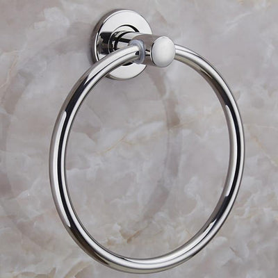 Towel Bar Premium Design / Cool Contemporary Stainless Steel / Iron 1pc towel ring Wall Mounted