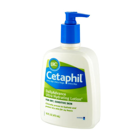 Cetaphil Dry Sensitive Daily Advance Ultra Hydrating Lotion, 16.0 fl oz - FLJ CORPORATIONS