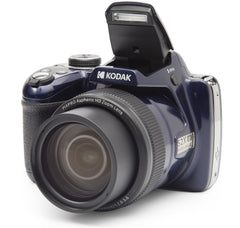 KODAK PIXPRO AZ528 Astro Zoom BSI-CMOS Bridge Digital Camera - 16MP 52X 1080p Wi-Fi (Midnight Blue) - FLJ CORPORATIONS