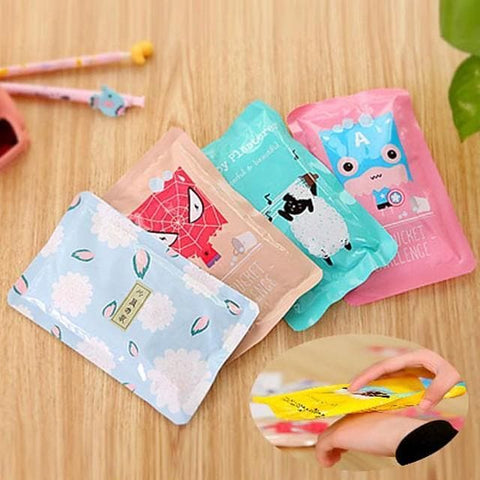 Cartoon Pouch Instant Ice Pack Cold Therapy First Aid Sports Injury Patch Cooling Bag (Random Color) - FLJ CORPORATIONS