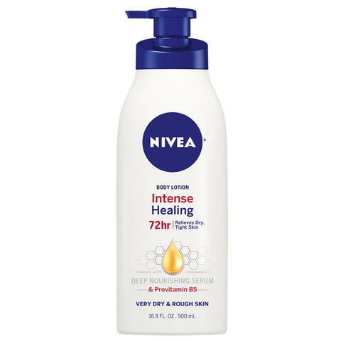 NIVEA Intense Healing Body Lotion, Use After Hand Washing, 16.9 fl. oz. Bottle - FLJ CORPORATIONS