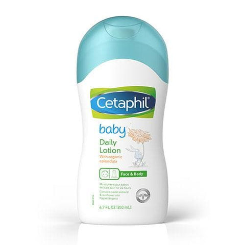 Cetaphil Baby Daily Lotion with Organic Calendula, 6.7 fl oz - FLJ CORPORATIONS