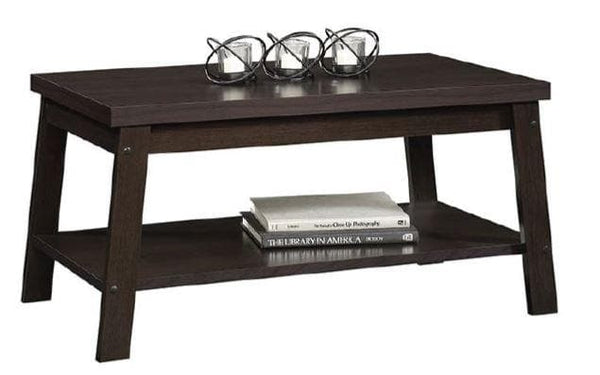 Mainstays Logan Coffee Table, Espresso Finishes - FLJ CORPORATIONS