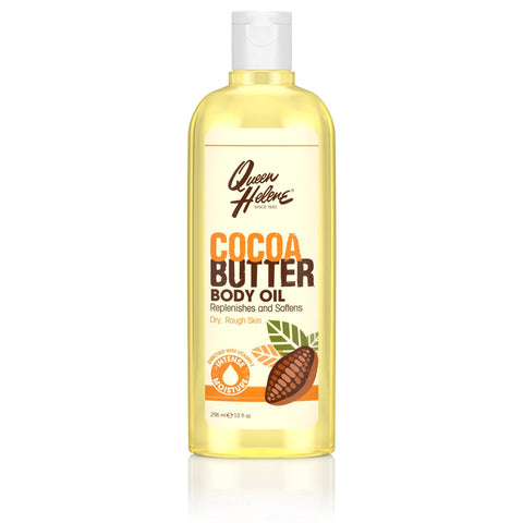 Queen Helene Cocoa Butter Body Oil, 10 oz. - FLJ CORPORATIONS