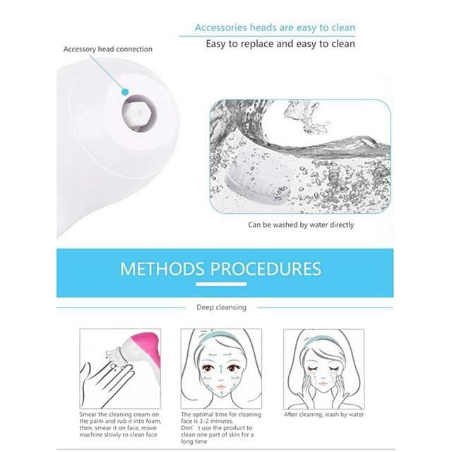 Facial Care for Face Comfortable / Easy to Use 110-220 V Brightening / Cleansing - FLJ CORPORATIONS