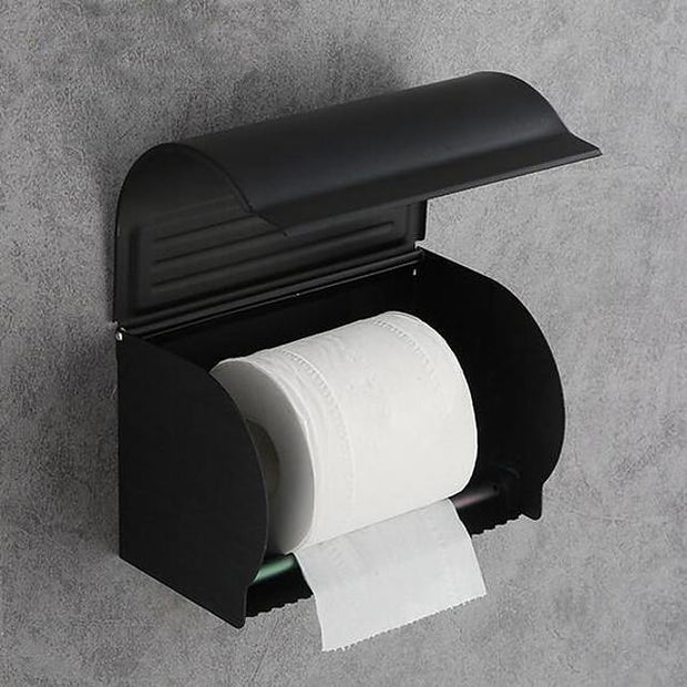 Toilet Paper Holder Premium Design / Multifunction Modern Aluminum 1pc Toilet Paper Holders Wall Mounted