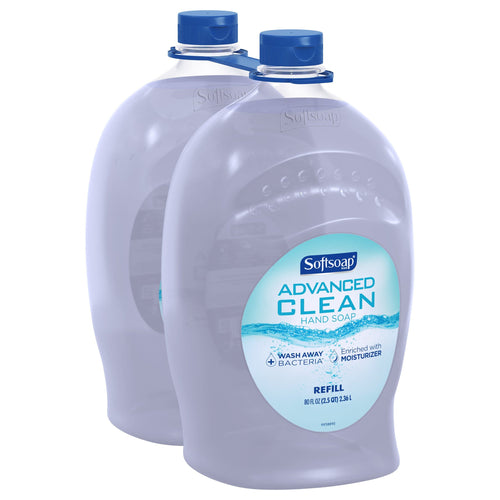 Softsoap Advanced Clean Hand Soap 80 fl. oz., 2-pack - FLJ CORPORATIONS