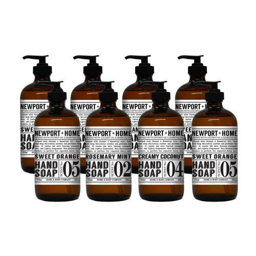 Home & Body Newport Hand Soap, 8-pack - FLJ CORPORATIONS