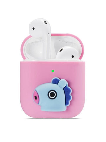 Case For AirPods Shockproof / Dustproof / Pattern Headphone Case Soft