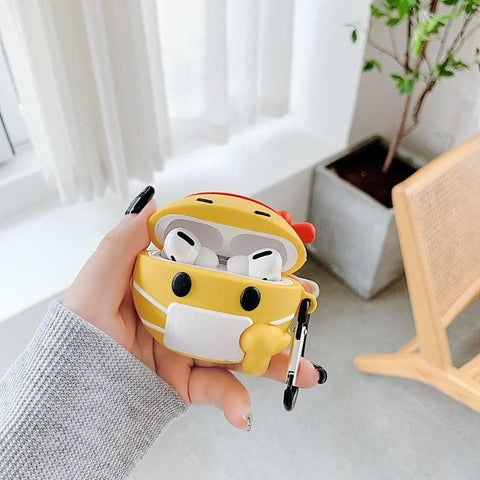 Case For AirPods Pro Cute Headphone Case Hard