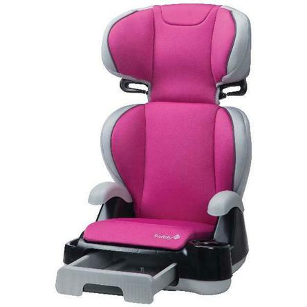 Safety 1st Store 'n Go Sport Booster Car Seat, Freesia