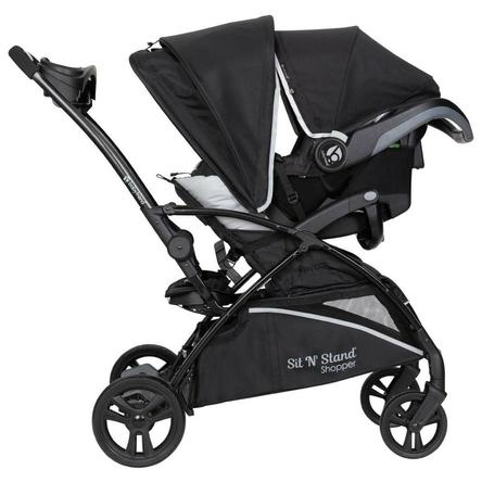 Baby Trend Sit N Stand® 5-in-1 Shopper Travel System - Moondust - Gray